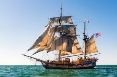 The historic vessel to offer tours and sails at Old Sacramento, Nov 1 - Nov 24