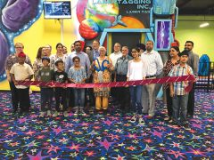 Friends, family and member of the Rancho Cordova Chamber of Commerce celebrate the recent opening. Photo courtesy City of Rancho Cordova.