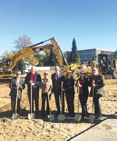 The STEM groundbreaking kicks off the next phase. ARC has launched a major fundraising effort for STEM Innovation and 21st Century Science. Photo by Tatyana Torgashev, courtesy ARC