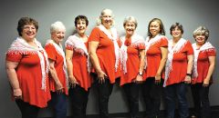What a great way to have fun! Ladies from the community are invited to attend rehearsals. Photo courtesy SVC.