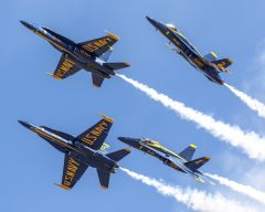 Blue Angels Soar into Town.Photos by Mark Loper, provided courtesy California Capital Airshow