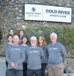 The staff at Gold River Sports Club welcome the change. Photo courtesy Spare Time Sports Clubs.