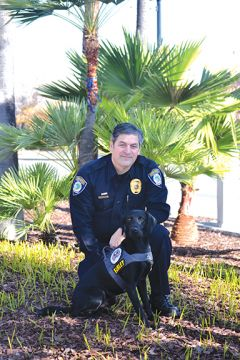 Detective Moranz and Farley are ready for duty. Photo courtesy Citrus Heights Police Department.