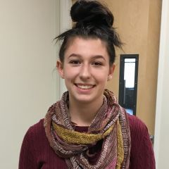 Cerys McLean, an early graduate from Del Campo High School and a current Sierra College student, was awarded $500.