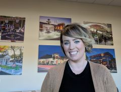 "Citrus Heights' new economic development manager, Meghan Huber, spent her first month ""knee deep in data"" in order to understand the City's unique business needs. Photo by Shaunna Boyd"