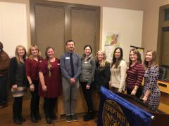 K-8 teachers in the Loomis Union School District received grants for Soroptimist International Loomis Basin. Photo courtesy LUSD
