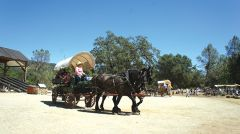 Free wagon rides will be offered in Coloma during the Pioneer History Day May 4. Photos provided by PHD