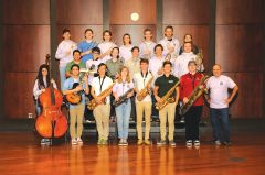 The Rio Americano High School AM Jazz Ensemble was named a finalist in the Essentially Ellington Jazz Festival. Courtesy of Rio Americano High School