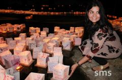"Newly-wed Shivangi Dhaundiyal decorated her lantern in honor of a ""perfectly imperfect"" romance shared with her husband"