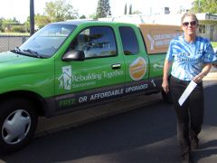Sandy Econome was the Program Manager for the Rebuilding Together program enhancing the Rancho Cordova area.