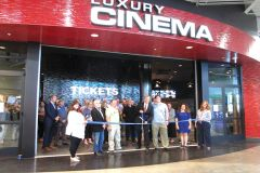 Ribbon Cutting with Cinema West CEO Dave Corkill.