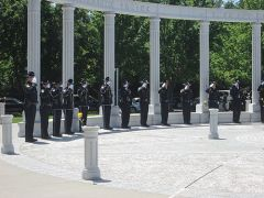 A Moment of Silence is extended to those officers fallen in the line of duty.