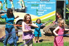 The WOW Bus making a stop at the a Camp Fair Oaks Fieldtrip. Photo courtesy of Fair Oaks Parks and Recreation