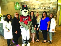 Dinger a Hit as New Sutter Walk-In Care's First Patient. It's a Whole New Ballgame for Sacramento as New Clinic Brings Healthcare Close to Home.