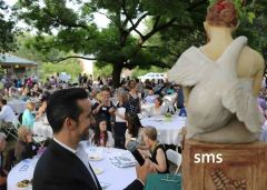 A live auction of work by VIP and award-winning art is a highlight of the al-fresco event.