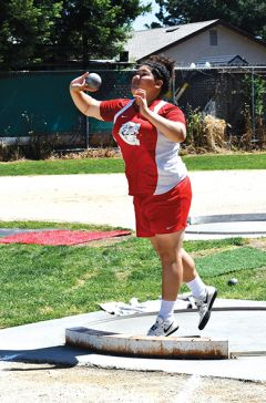 Faauiga Toele participated in the discus event; this season, she made a discus throw of 111