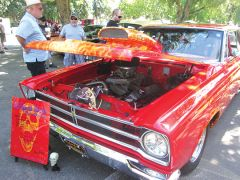 This 1965 Plymouth Belvedere Pro-Street is no dinosaur – photo by Trina L. Drotar