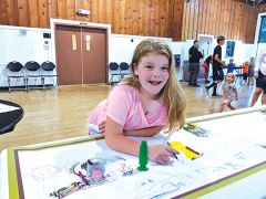 Young artists created their own designs for the perfect playground.