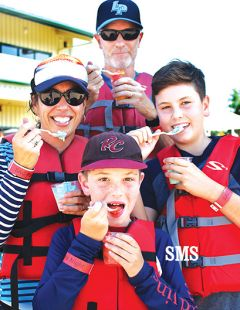 Parents' night allows grownups to share on and off-water activities with kids.