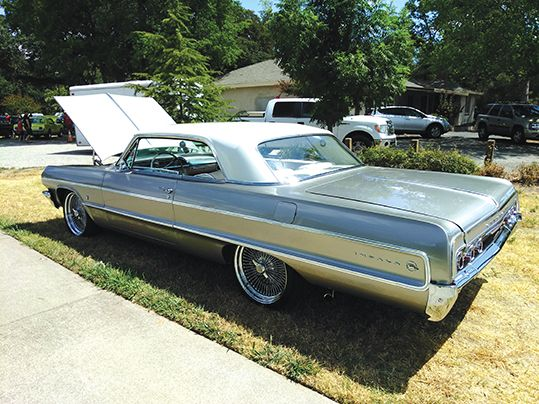 My dream car, a 1964 Chevy Impala. Darn, they didn't leave the keys. Photo by Paul Scholl