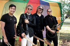 Apple Z musicians Jake Cooley (left) Scott Rodell, Steve Walter and Steven Leonard will play at Gibbons Park, Carmichael on September 22. Photo by Susan Maxwell Skinner