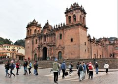 Cusco Cathedral is an emblematic landmark in Plaza de Armas, the city's main colonial square. Photo by David Dickstein