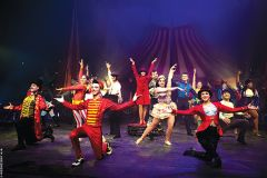 Circus Vargas features will be valued by those who love dramatic entertainment. Courtesy Circus Vargas/Wednesday Aja