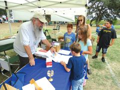 Sacramento Valley Astronomical Society members spent the afternoon sharing their knowledge with interested children.