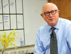 Dr. H. Michael Shepard received the 2019 Lasker Award for the development of Herceptin. Courtesy SJUSD
