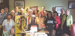 Carmichael Toastmasters club members are well into their 63rd year. Photo courtesy LaWanna Parker, Carmichael Toastmasters