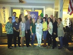 The Kiwanis Club of Orangevale - Fair Oaks enjoying their celebration night! Paul Scholl