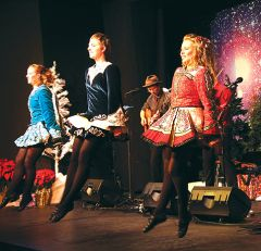 The Murray Irish dancers from Portland, Oregon will present Winterdance along with Molly's Revenge and vocalist Amelia Hogan. Courtesy Molly's Revenge