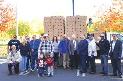 Rancho Cordova City Council, Rotary Club of Rancho Cordova, Grocery Outlet Rancho Cordova and Kiwanis Club of Rancho Cordova members are taking the turkeys to the streets. Photo courtesy Golden State Water