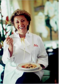 Image of the well-known local Italian American restaurateur, the late Biba Caggiano. Photo: SCSO