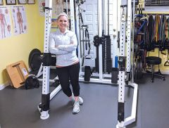Pam Markee, owner and CEO of Markee Personal Training, has a passion for helping clients reach their personal fitness goals.