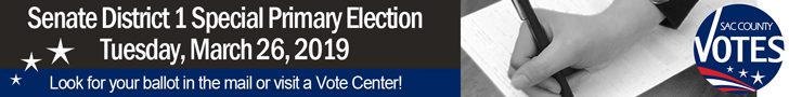 Special Primary Election Voter Outreach Banner